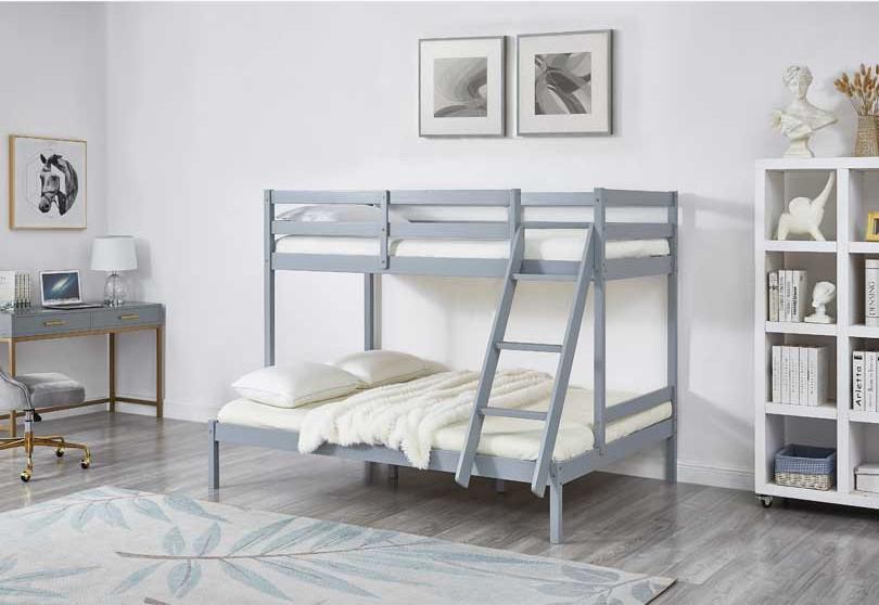 Astro Kids Triple Bunk Bed